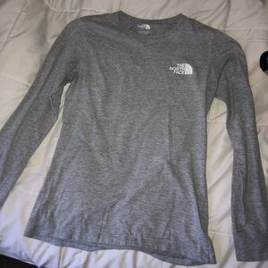 Long sleeve North Face top